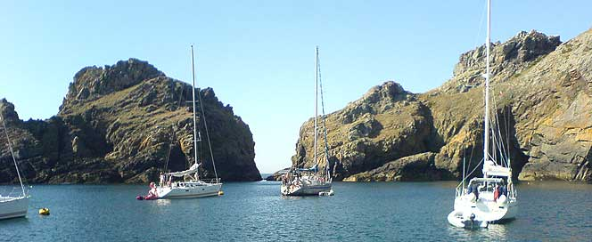Sark Anchorage